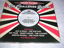 Various Artists - Hard to Get (The Challenge Story, 2013) CD X 2  1960s