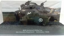 1/72 TAN012 M20 ARMORED UTILITY CAR 6TH CAVALRY REGIMENT GERMANY 1945