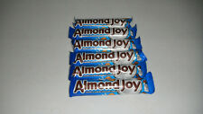 Lot of 6 Almond Joy Candy Bars - Chocolate Coconut & Almond