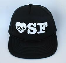 """EyE ❤ SF"" I Love San Francisco One Size Fits Most Snapback Trucker Baseball Cap"