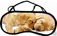 Mascherina da sonno cache occhi anti luce affaticamento cane personalizzabile