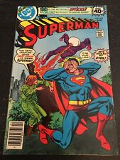 Superman#334 Awesome Condition 7.0(1979) Andru Cover