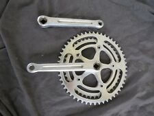 ZEUS 170 CRANK SET 44 / 52 ROAD RACING VINTAGE BICYCLE