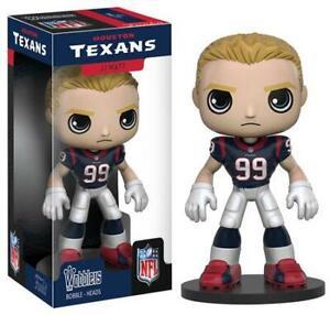 JJ Watt Houston Texans Funko Wobbler Bobblehead NFL