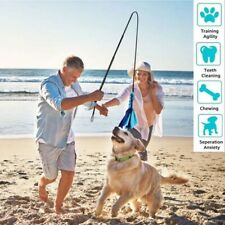 New listing Pet Dog Flirt Pole Extendable Interactive Toys Dogs Outdoor Play Toy Funny