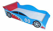Racing Car Junior Bed Solid Wood Sturdy Robust Child Safe Easy To Assemble