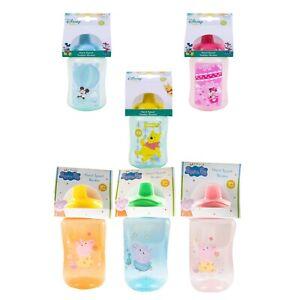 Disney Baby Hard Spout Toddler Beaker w Plastic Drinking Cap BPA Free 6+m