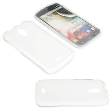 Bag for Wiko Darkmoon Cell Phone Pocket Cases TPU Rubber Transparent Foggy