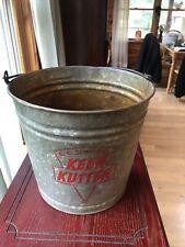 Rare Vintage Keen Kutter Metal Bucket