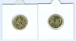France 10 Cent Pp / Proof (Choisissez Entre Les Millésimes : 1999-2006)