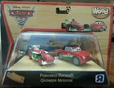 DISNEY PIXAR CARS 2 WOOD COLLECTION Francesco Bernoulli  Giuseppe Motorosi