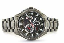 CITIZEN MENS ECO-DRIVE BLACK ION CHRONO/ALARM WATCH BL8097-52E
