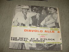 """STU PHILIPS Orchestra  """" THE DEVIL AT 4 O' CLOCK """" O.S.T.  ITALY'6?"""