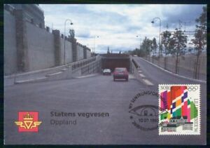 Mayfairstamps NORWAY FDC 1994 MAXIMUM CARD OLYMPICS STATENS VEGVESEN OPPLAND wwk
