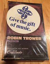 Robin Trower - Passion CASSETTE SEALED jimi hendrix pat travers metallica opeth