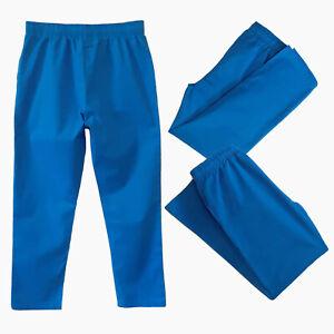 Doctors Nurses Trousers Elastic Waist Uniform Medical Nurse Doctors Trousers