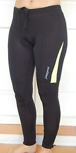 Jaggad Fleece Long Cycling leggins Tights Knick Pants bike Men Women S -XXL Lime