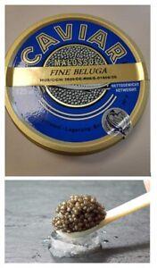 Fine Beluga Kaviar (Huso Huso) - kostenlose 24-Stunden Expresslieferung