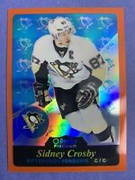 2015-16 O-Pee-Chee Platinum Retro Orange Rainbow #R22 Sidney Crosby 4/49 OPC SP