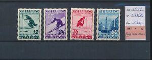 LN83629 Austria 1936 skiing sports fine lot MNH cv 180 EUR
