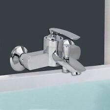 Rubinetto vasca miscelatore monocomando moderno da bagno 2 fori a parete 52327A