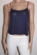 COTTON ON Brand Navy Emma Crop Top Size M BNWT #SW102