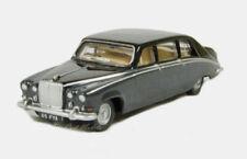Oxford Daimler DS420 Embassy Black/Carlton Grey Diecast Metal Car 1/76 OO Scale