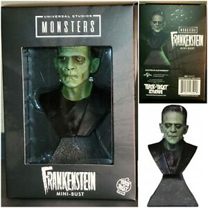 Universal Monsters Frankenstein  Mini Bust Trick or Treat Studios