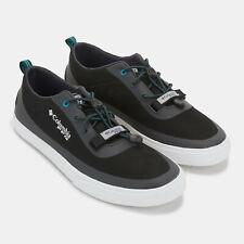 Mens Columbia Water Shoes Black Dorado PFG CVO Boat Shoes NEW