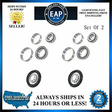 For Golf Jetta Cabrio Rabbit Corrado Passat Set Of 2 Rear Wheel Bearing Kit NEW
