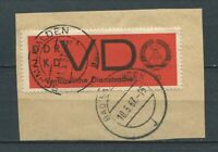 Germany - DDR : VD official stamp from 1967 - used