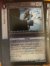 Lord of the Rings Tcg Fellowship 1U213 Frozen By Fear Ccg Lotr