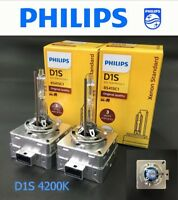 Genuine PHILIPS D1S 85415C1 HID Xenon Standard 35W Bulb x 2 Germany Made #Agtc