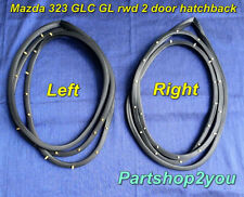 1977-81 Mazda 323 GLC GL 2 DOOR CUPE  door weatherstrip rubber seal