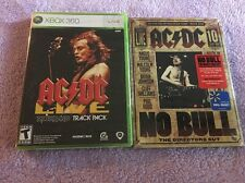 AC/DC FAN PACK Xbox 360 Edition AC/DC LIVE ROCKBAND TRACK PACK GAME BUNDLE