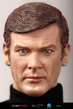 "james bond 007 roger moore did dragon figure 12"" 1/6"