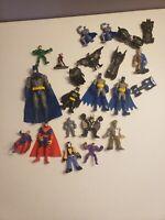DC Comics Toy Figure Lot Harley Quinn Joker The Flash Robin Two Face Batman