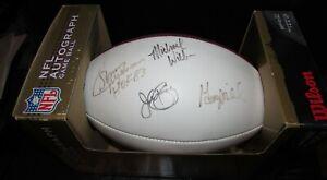 The Duke Football Signed by NFL Washington Redskins Legends Jurgenson, Riggins
