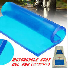DIY 1cm Blue Silicone Gel Cushion Motorcycles Seat Modified Cover Mat 35cmX35cm