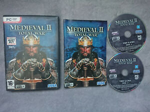 Total War Medieval 2 game for Windows PC Computers DVD Disc SEGA