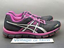 Women's Asics Gel-Blur33 Black Lighting Magenta Running Shoes T1H8N sz 9