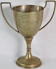 Antique Pre Wwii 1932 South Africa Army Highlanders vs Navy Silver Trophy Cup