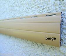 Rolladen Ersatz Lamellen Maßanfertigung PVC beige Breite 160 cm