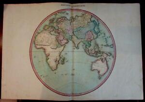 Eastern Hemisphere Africa Australia Asia Hindostan 1810 Pinkerton Dobson map