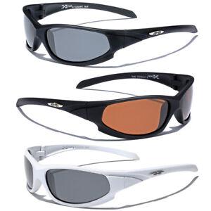 POLARIZED Wrap Around Mens Womens Sports Sunglasses Fishing Golf Cycling Glasses