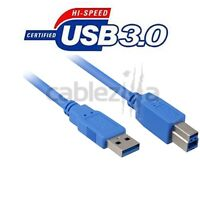 3FT USB 3.0 A Male to B Male Cable Cord Printer HP Canon Epson Lexmark Brother