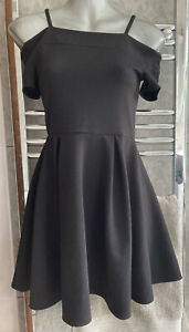 Girls Candy Couture Off Shoulder Dress Age 12-13