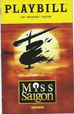 MISS SAIGON Playbill revival Preview Jon Jon Briones Eva Noblezada MINT