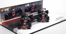 1 43 Minichamps Haas F1 Ferrari Vf-17 Austalian GP Grosjean/magnussen