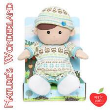 Plush Toddler Boy Doll Soft Toy by Apple Park Organic Toys Gift Infant 32 Cm